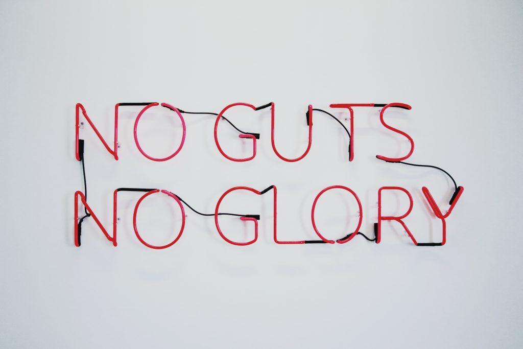 no guts no glory pic